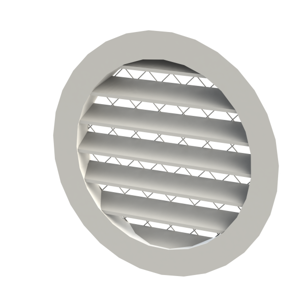 Circular Cast Weather Louvres