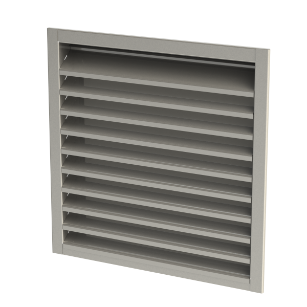 Galvanised/Stainless Steel Weather Louvres