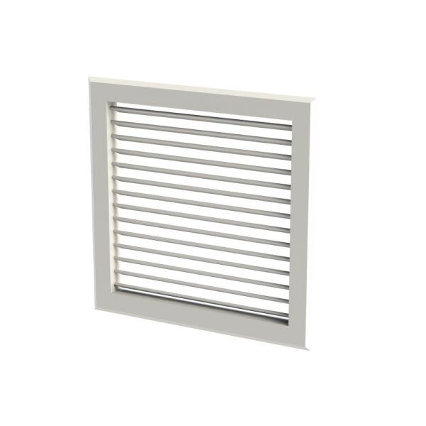 Single Deflection, Double Deflection and Fixed Blade Grille